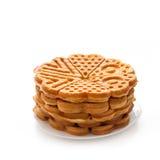 Crisp waffles Stock Photos
