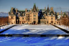 Crisp Winters Day At Biltmore Stock Image
