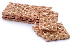Crispbread с семенами сезама стоковое фото