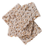 Crispbread (isolated on white) Stock Image
