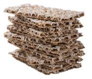 Crispbread (isolated on white) Stock Photography