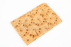 Crispbread with sesame Royalty Free Stock Photography