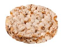Crispbreads зерна изолированные на белой предпосылке Стоковые Изображения RF