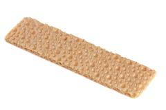 Crispbreads одного зерна изолированные на белой предпосылке Стоковые Изображения