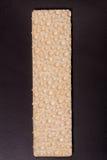 Crispbreads одного зерна на темной предпосылке Стоковое Фото