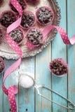 Crispies del cioccolato Fotografie Stock