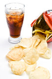 Crisps Royalty Free Stock Images