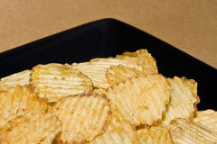 Potato  crisps  Royalty Free Stock Photography