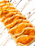 Crispy apple tart Stock Photos