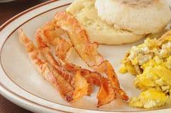 Crispy bacon Stock Photo