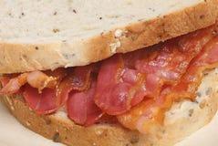 Crispy Bacon Sandwich Royalty Free Stock Photos