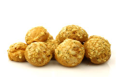 Crispy baked cheese balls Stock Images
