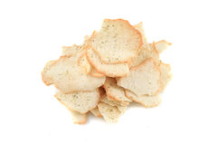 Crispy baked chips Stock Images