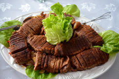 Crispy beef meat Royalty Free Stock Photo