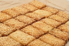 Crispy biscuit Royalty Free Stock Photo