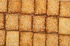 Crispy biscuit Stock Image