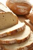 Crispy bread. Crispy, fresh baked bread. Some slices of bread Stock Images