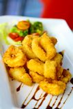 Crispy Calamari royalty free stock photo