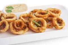 Crispy calamari Stock Photography