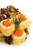 Crispy California Roll Royalty Free Stock Photos