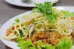 Free Crispy Catfish Salad Stock Image - 34348781