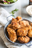 Crispy chicken Stock Photography