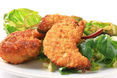 Crispy chicken tenders Stock Image