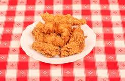 Crispy chicken Royalty Free Stock Photo