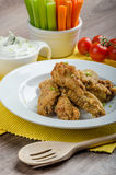 Crispy chicken wings Royalty Free Stock Photography