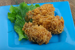 Crispy chicken wings Royalty Free Stock Images