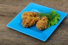 Crispy chicken wings Stock Image