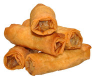 Crispy Chinese Spring Rolls Stock Photography