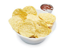 Crispy chips Stock Images