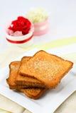 Crispy chleb Zdjęcia Royalty Free