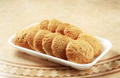 Crispy cookies Royalty Free Stock Photography