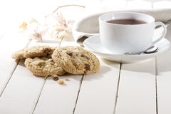 Crispy cookies Stock Photography