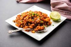 Crispy Corn Masala or chatpata corn or makka Stock Images