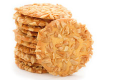 Crispy cracker Royalty Free Stock Photography