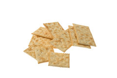 Crispy crackers royalty free stock photos