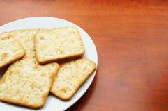 Crispy crackers Royalty Free Stock Photos