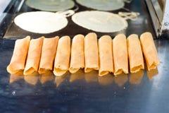 Crispy Crape, Pancake Royalty Free Stock Photography