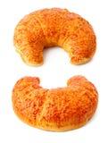 Crispy croissants sweet baking Stock Image
