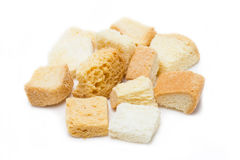 Crispy Croutons. Stock Images
