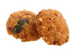Crispy deep fired vadai snacks Royalty Free Stock Photo
