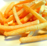 Crispy and delicious French fries Royalty Free Stock Images