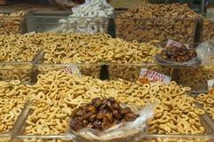 Crispy, fragrant taralli Puglia, Włochy Zdjęcie Stock
