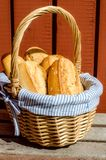 Crispy French Baguettes Stock Photos