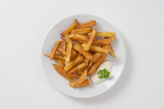 Crispy french fries Stock Images