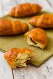 Crispy Fresh Croissants Royalty Free Stock Photography