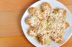 Crispy fried bananas Stock Image
